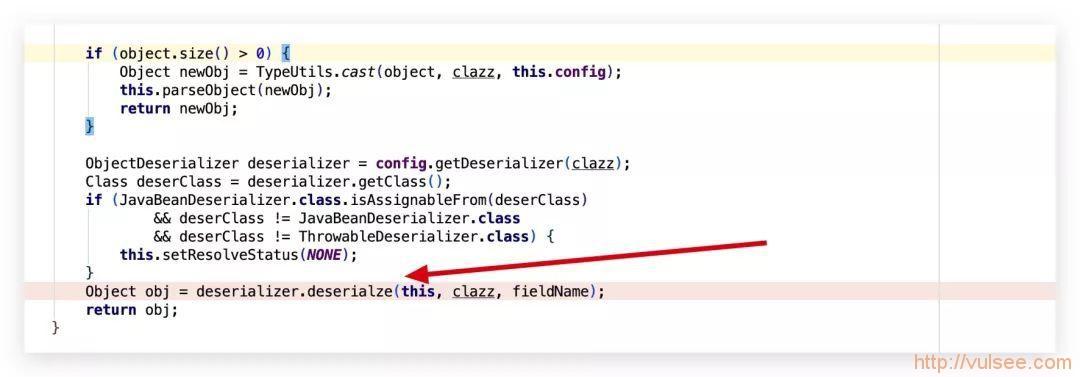 fastjson =< 1.2.47 反序列化漏洞浅析
