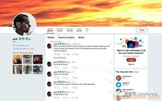 尴尬大了——推特CEO多尔西的推特账号被黑客入侵